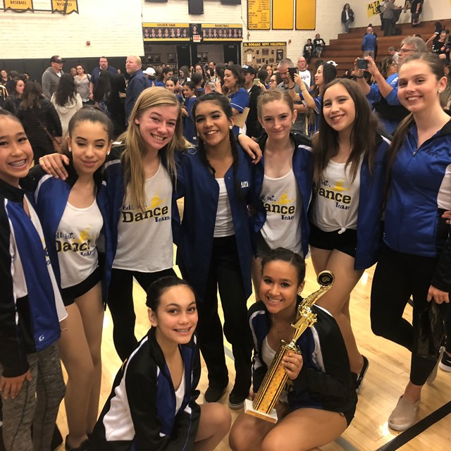 Bell's dance team is accoladed for the skill and precision in their collaborative routine.