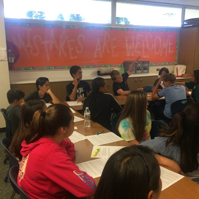 Bell's AVID students strive to succeed during Summer Bridge!