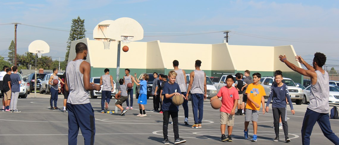 Cypress College Basketball Clinic