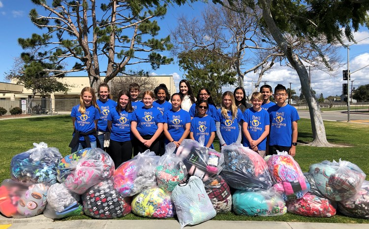 ASB donated 165 blankets to Long Beach Memorial Hospital - article thumnail image