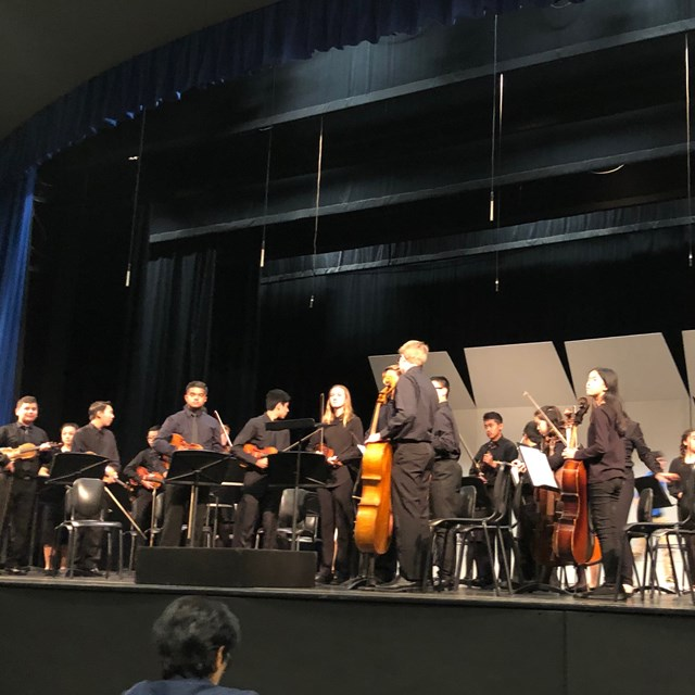 The Symphonic Strings hit all the right notes!