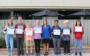 September Scholars and Athletes of the Month - article thumnail image