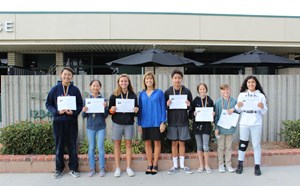 October Scholars and Athletes of the Month - article thumnail image