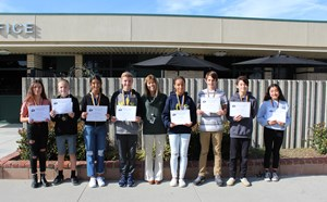 November Scholars and Athletes of the Month - article thumnail image