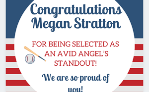 Congratulations to our 2020 AVID Angel's Scholar! - article thumnail image