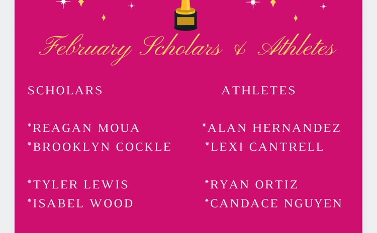 February Scholars and Athletes - article thumnail image