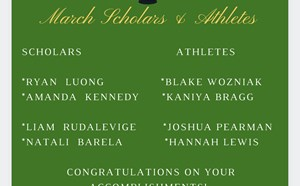 March Scholars & Athletes - article thumnail image